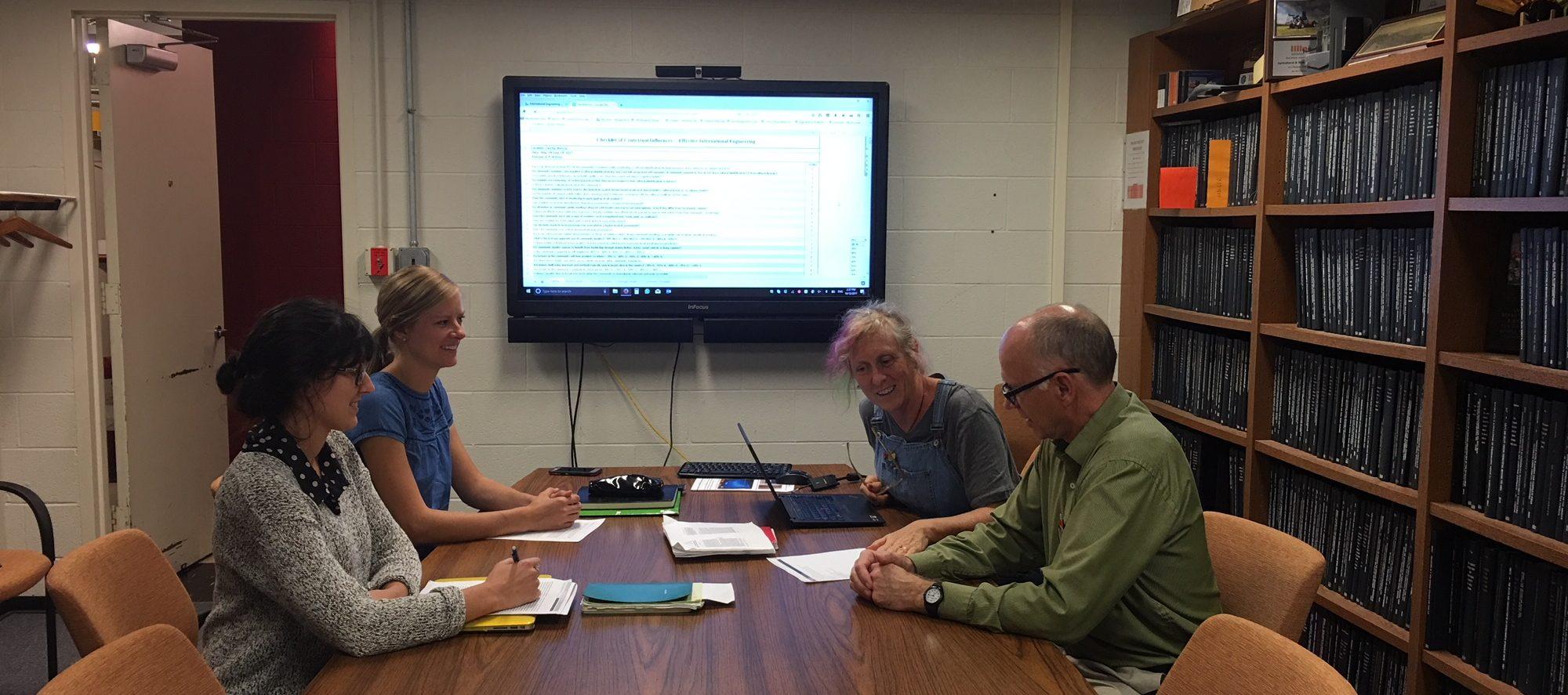 a photo of the International Engineering Effectiveness team
